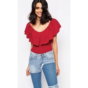 Free People Tula Off The Shoulder Top